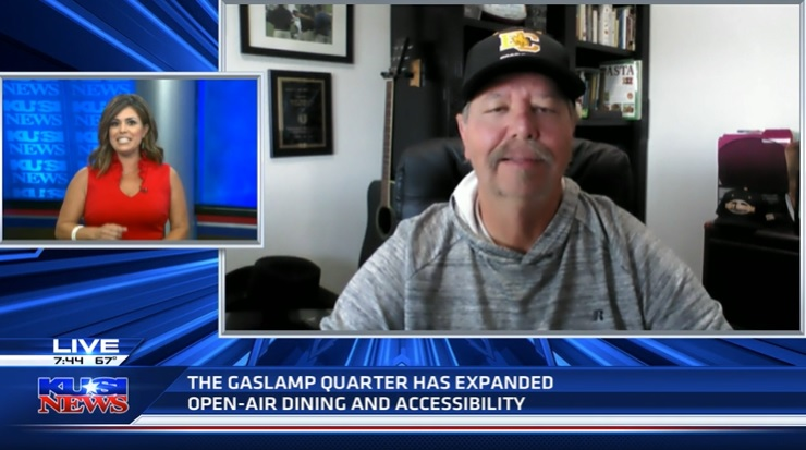 Restaurant owners still frustrated over Gaslamp promenade expansion delay
