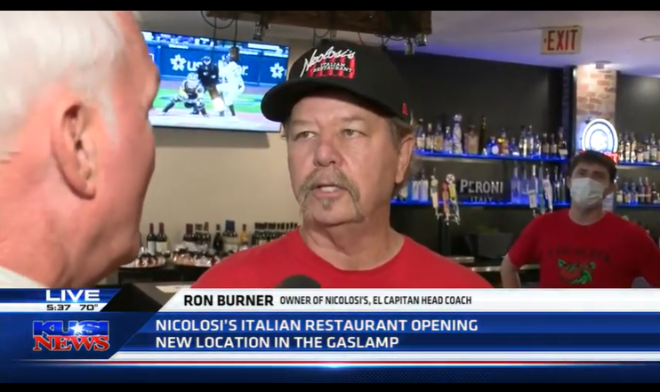 Nicolosi's Italian Restaurant officially opens new location in the Gaslamp Quarter